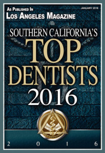 Dr. Kosdon named among Southern California's Top Dentists of 2016