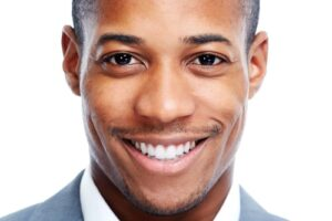 Young Ethnic Man Smiling